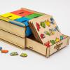 Otroška razvojna igrača Predalnik - živi svet