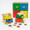 Otroška razvojna igrača Predalnik - Kaj lahko zraste?