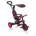 Globber Tricikel Explorer 4 v 1 - rdeč